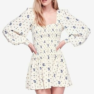 🌼Free People🌼 Two Faces mini dress